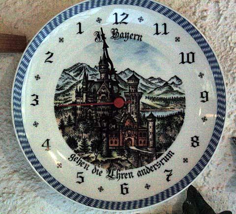 In Bayern Gehen Die Uhren Anders